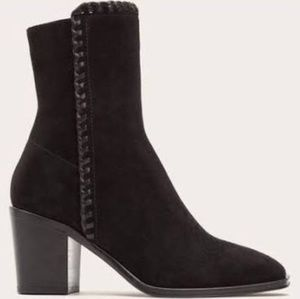 Frye Giovani Genuine Made In Italy Suede Booties